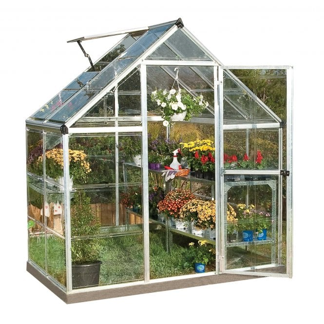 Click to view product details and reviews for Harmony 6ft X 4ft Greenhouse Silver.