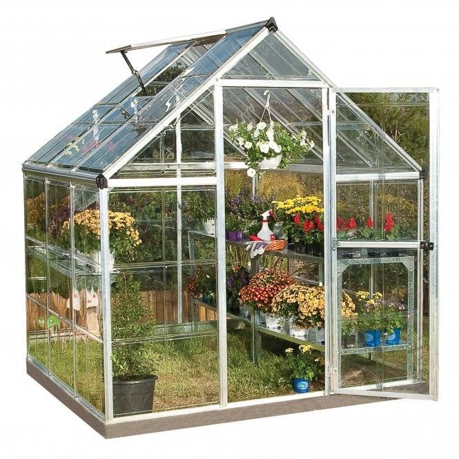 Click to view product details and reviews for Harmony 6ft X 6ft Greenhouse Silver.