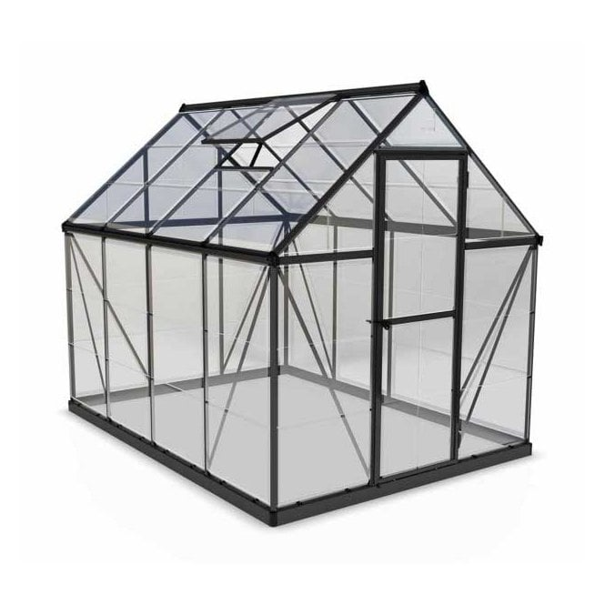 Click to view product details and reviews for Harmony 6ft X 8ft Greenhouse Grey.