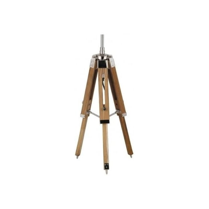 Click to view product details and reviews for Harper Natural Wood Tripod Table Lamp Base.