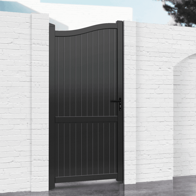 Click to view product details and reviews for Hartfield Aluminium Pedestrian Gate.