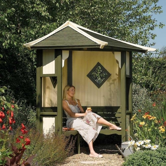 Click to view product details and reviews for Haven Corner Arbour.