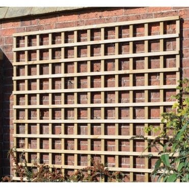 Heavy Duty Square Trellis Green