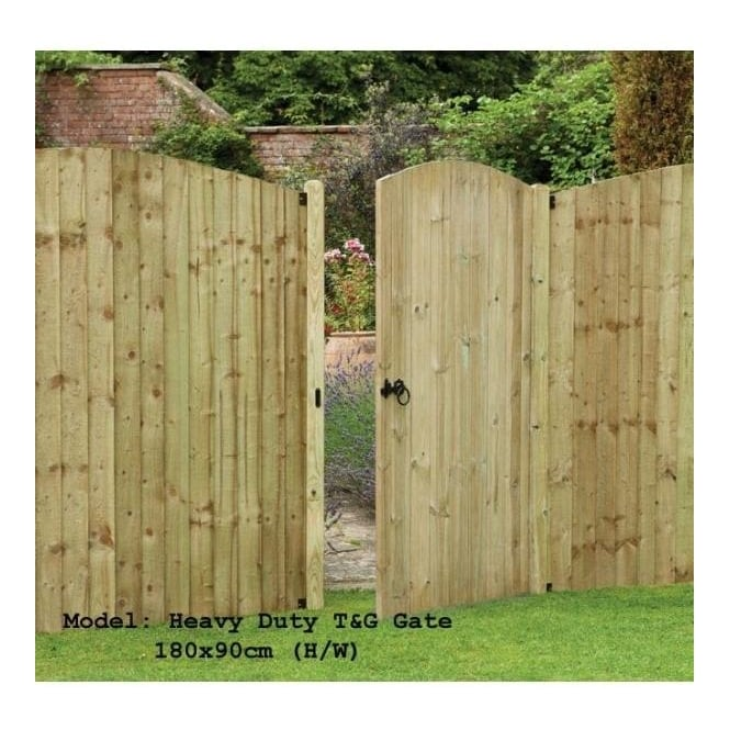 Click to view product details and reviews for Heavy Duty Tongue And Groove Gate 18m High.