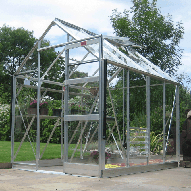 Click to view product details and reviews for High Eave 6 X 8 Greenhouse.