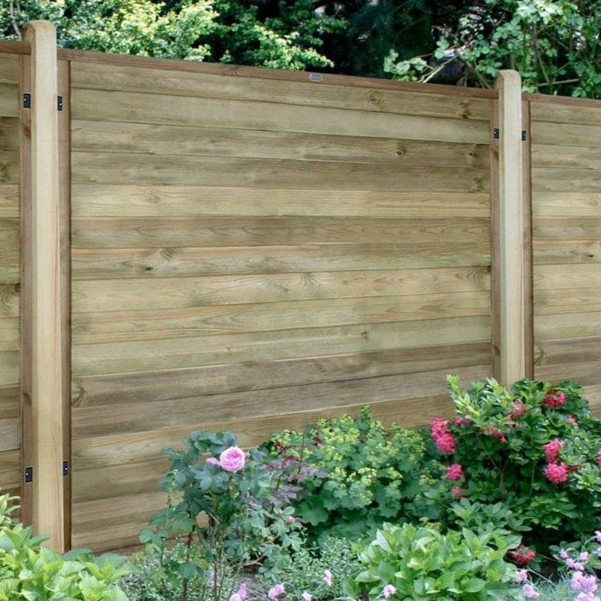 Horizontal Tongue And Groove Fence Panel