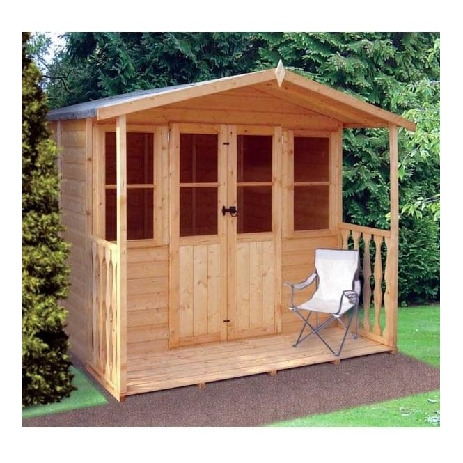 Click to view product details and reviews for Houghton Summerhouse Double Doors 2 X Windows.