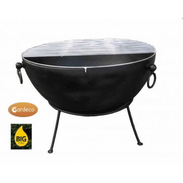 Huge 6mm Thick Spun Steel Fire Pit