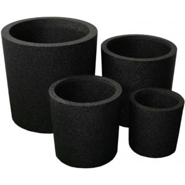 Iqbana Round Planter 4 Sizes Available in Black