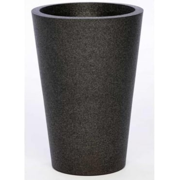 Iqbana Vasaluce Planter in Black