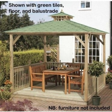 Jagram Lindrick Canopy with Wooden or Optional Tiled Roof