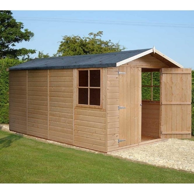 Click to view product details and reviews for Jersey Garden Shed 7ft X 13ft Double Door Shiplap.