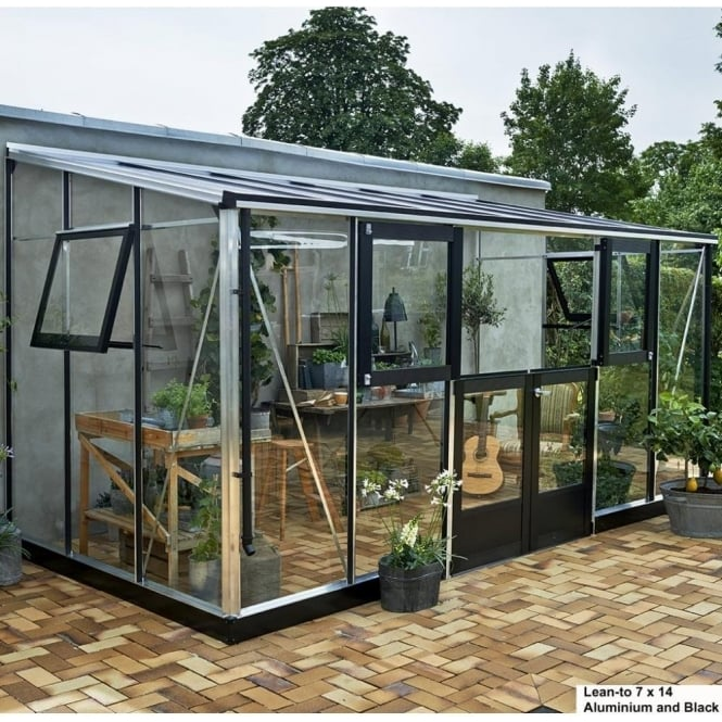 Lean-to Greenhouse 7 x 14
