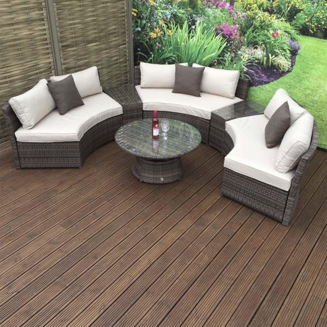 Alexandria Rattan Corner Sofa Reviews: Juliet Rattan Corner Sofa Set In Synthetic Rattan With