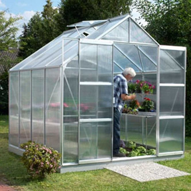 Click to view product details and reviews for Jupiter 6700 8 X 8 Greenhouse Silver.