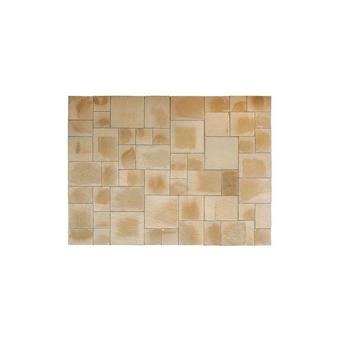 Click to view product details and reviews for Kelkay Abbey Paving Random Patio Kit 1022m Sq.