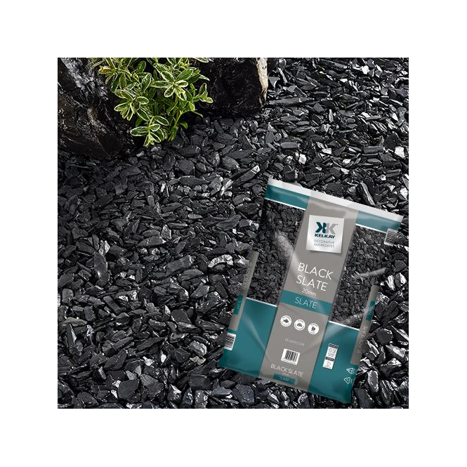 Click to view product details and reviews for Kelkay Black Slate 20mm Bulk Bag.