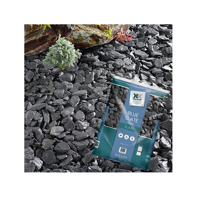 Click to view product details and reviews for Kelkay Blue Slate 40mm Chippings Bulk Bag.