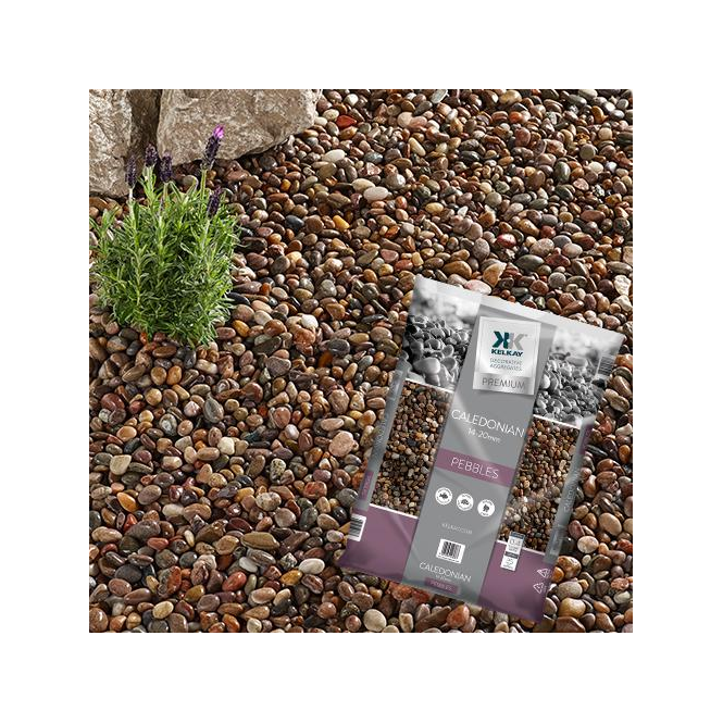 Click to view product details and reviews for Kelkay Caledonian Pebbles Bulk Bag.