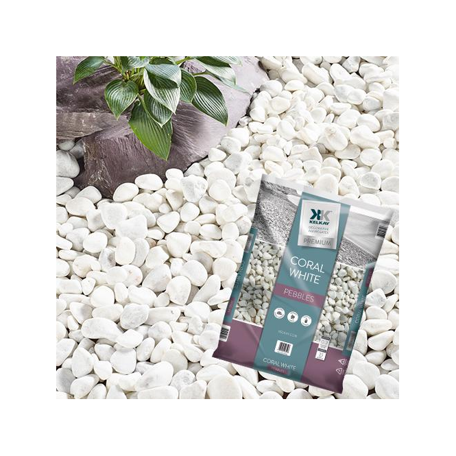 Click to view product details and reviews for Kelkay Coral White Pebbles Bulk Bag.