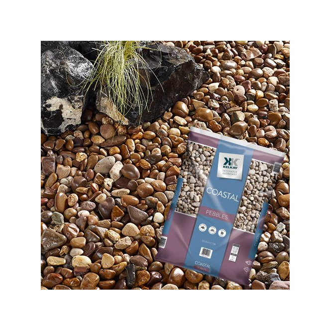 Click to view product details and reviews for Kelkay Costal Pebbles Bulk Bag.