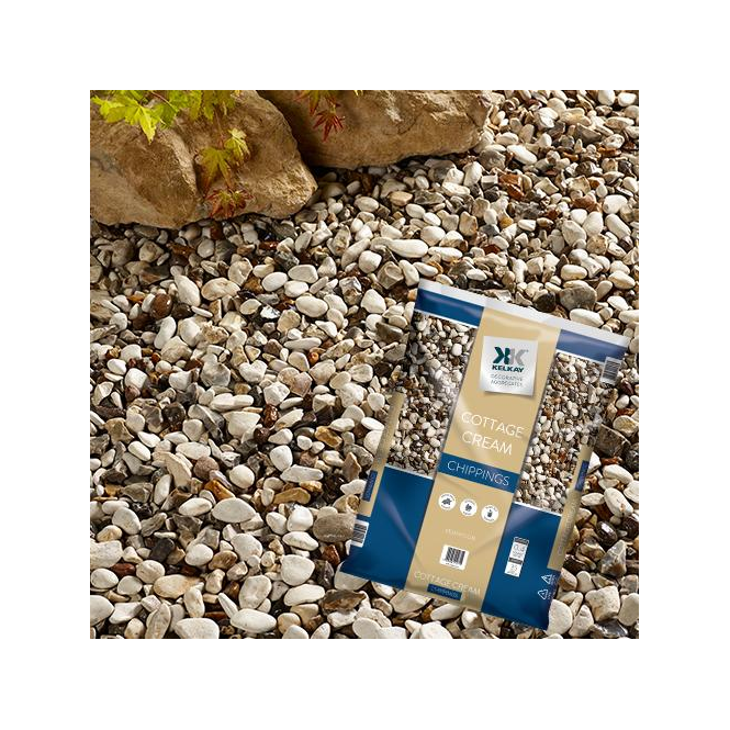 Click to view product details and reviews for Kelkay Cottage Cream Chippings Bulk Bag.