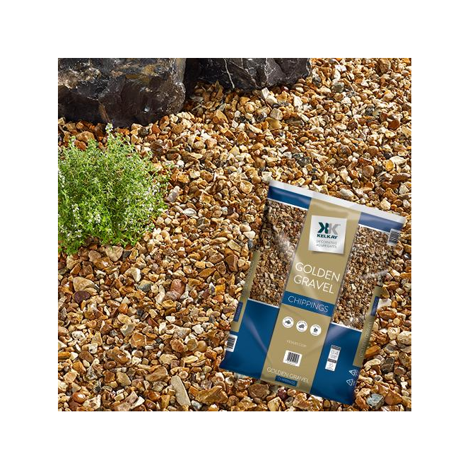 Click to view product details and reviews for Kelkay Golden Gravel Chippings Bulk Bag.