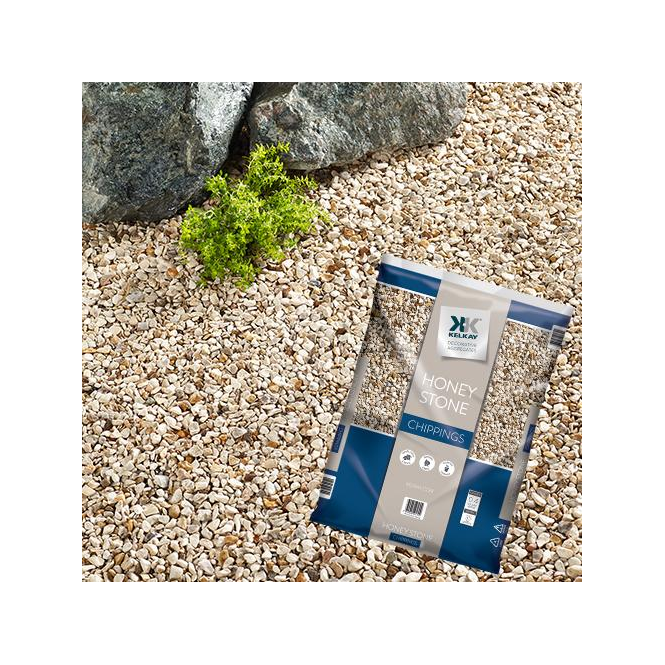 Click to view product details and reviews for Kelkay Honey Stone Chippings Bulk Bag.