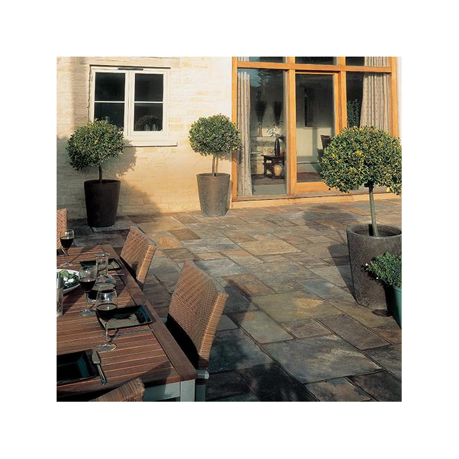 Click to view product details and reviews for Kelkay Natural Slate Patio Kit 55 M Sq.