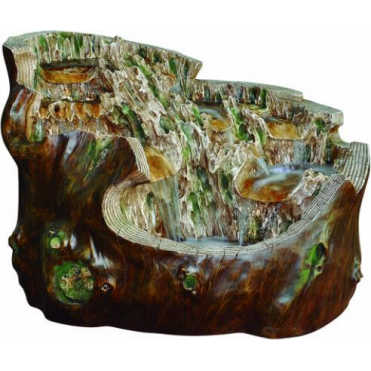Kelkay Walnut Spills Water Feature