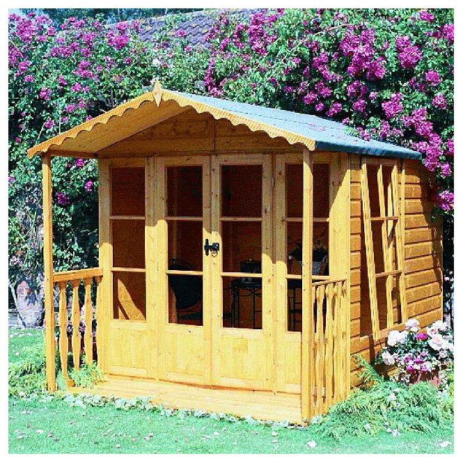 Click to view product details and reviews for Kensington Summerhouse With Veranda.