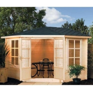Kestrel Summer House - Untreated Natural Timber
