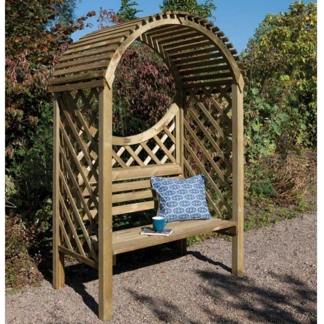 Click to view product details and reviews for Keswick Garden Arbour.