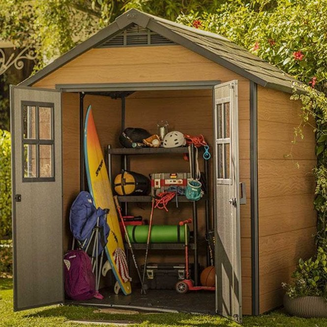 Click to view product details and reviews for Keter Newton 757 Shed.