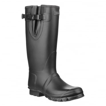 Kew Wellington Boots in Black