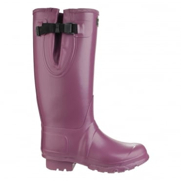 Kew Wellington Boots in Purple