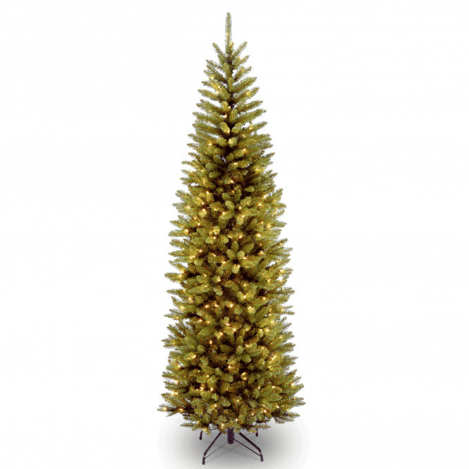 Kingswood Fir 4ft Pencil Tree With Led Lights