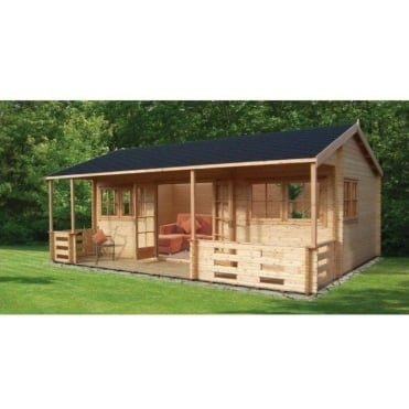 Kingswood Log Cabin with Veranda