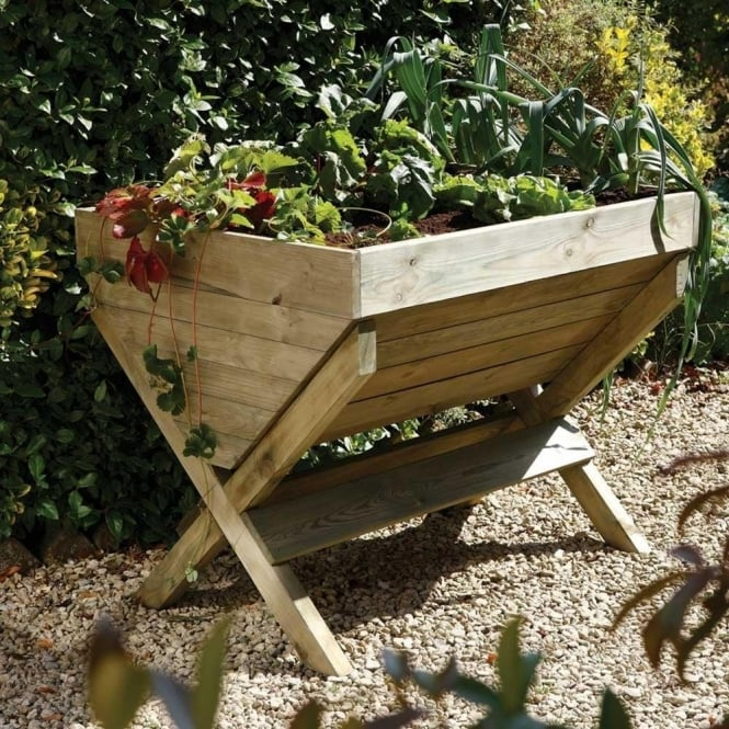 Charming Kitchen Garden Trough  Pressure Treated