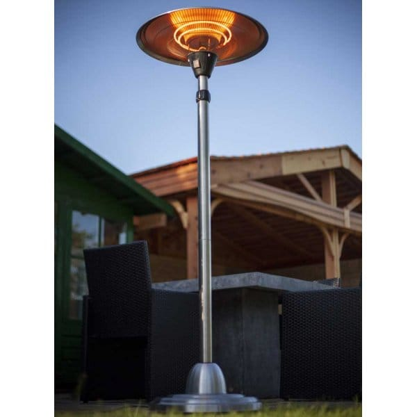 Patio Heater Free Standing Electric