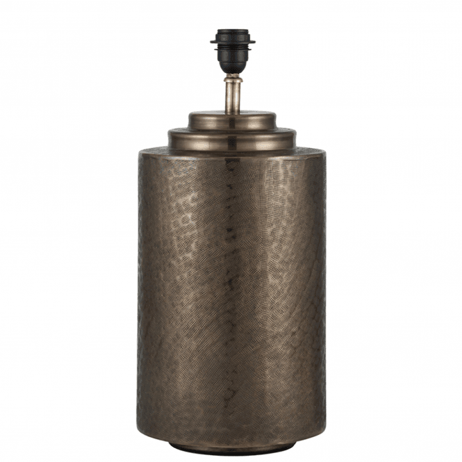 Click to view product details and reviews for Large Antique Brass Pot Table Lamp.
