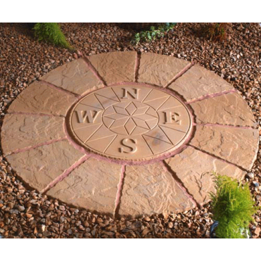 Large Compass Rotunda Circle with Squaring Off Kit 1.8m/sq
