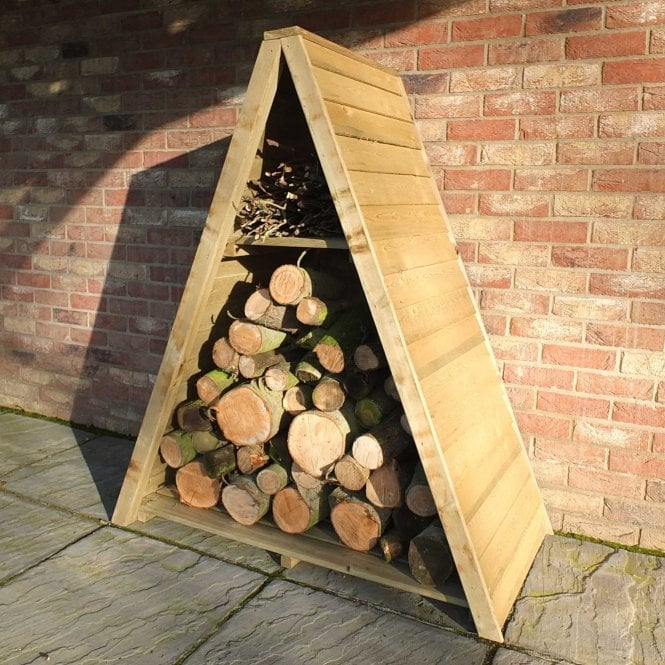 Click to view product details and reviews for Large Triangular Log Store Overlap.