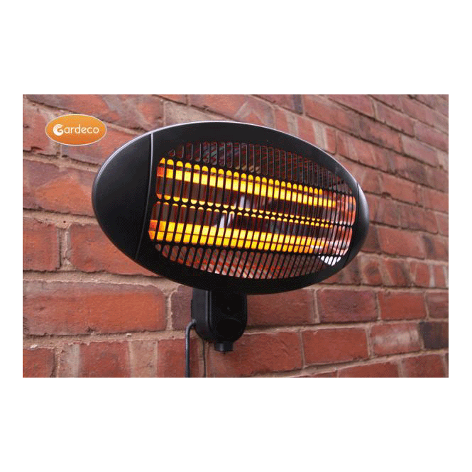 Click to view product details and reviews for Lectro Electric Wall Mounted Patio Heater.