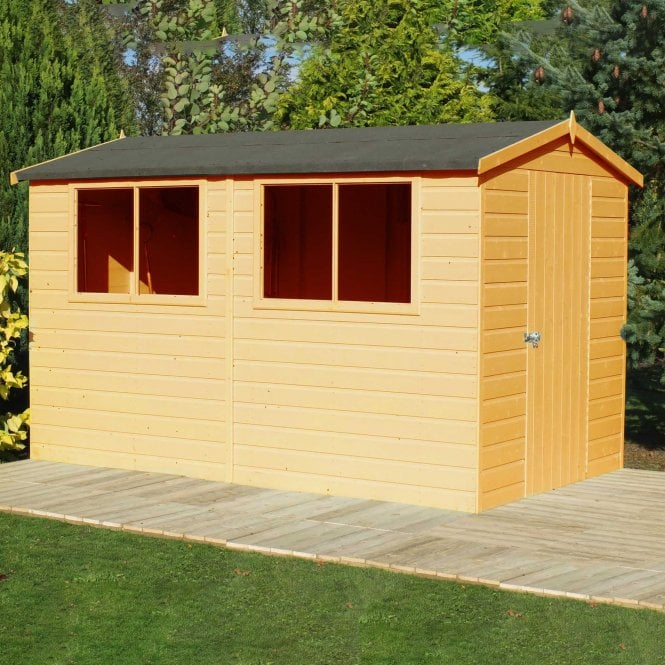 Click to view product details and reviews for Lewis 10 X 6 Premium Shed.