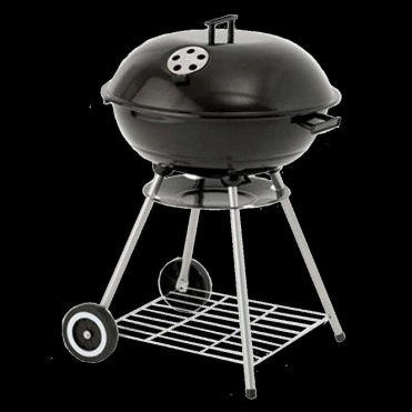"Lifestyle 22"" Kettle BBQ with Wheels"