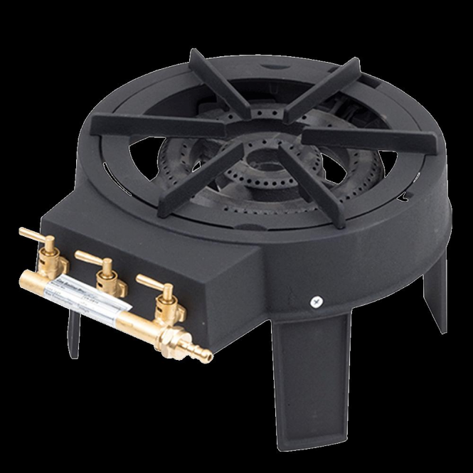 Click to view product details and reviews for Lifestyle 9kw Dual Burner Cast Iron Boiling Ring.