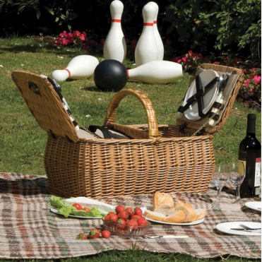 Lifestyle Dorothy Willow Picnic Hamper for Four