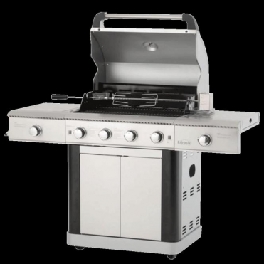 St Lucia Deluxe 4+2 Burner Gas Grill BBQ