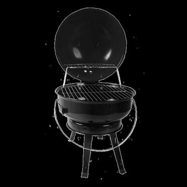 Lifestyle Tino Compact Table top Charcoal Barbecue